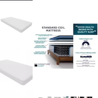 Two brand new twin size mattresses with original packaging  Toronto, M5A 3A8