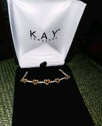 Kay's Diamond Heart Bracelet