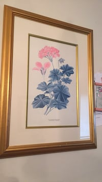 Pink Flower Painting Woodbridge, 22191