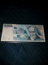 20000 mexican pesos bill dated February 1987 Kitchener, N2P 1R7