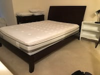 Queen mattress, bed frame, & headboard Alexandria, 22314
