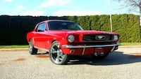 66 mustang with restoration parts. Burnaby, V5E 2E5