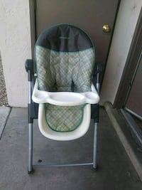 baby's gray and white high chair Albuquerque, 87109