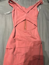 women's pink spaghetti strap dress Size small only used once $13 Miami, 33165