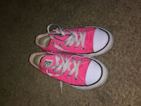 pair of pink Converse All Star high top sneakers Lubbock, 79414