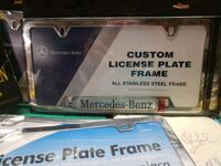 Licsence plate holders.  4 total.  Manito, 61546
