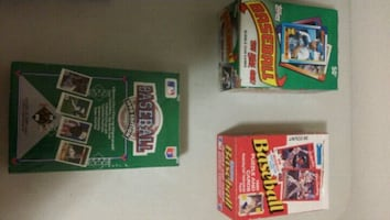 Unopened Baseball Cards (1990)