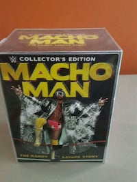 Macho Man Randy Savage Collector's Edition Set