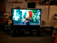 Samsung 67 inch t.v. with stand and Sony DVD combo Banning, 92220