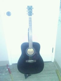 Yamaha guitar with case