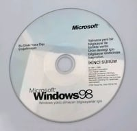 Orijinal Windows 98 CD si Karamanlı, 14100