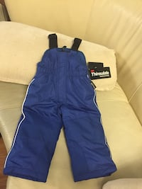 Thinsulate Navy blue 18M  (26LB)snow pants