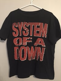 System of a Down T-Shirt, Men's M Hamilton, L8N 1T5