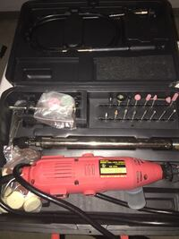King Canada 135-Piece Variable Speed Rotary Tool Kit