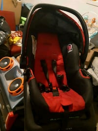 baby's black and red car seat carrier Edmonton, T5X