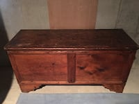 Chest Antique Solid Walnut BOULDER