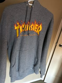 gray Thrasher pull-over hoodie Central Okanagan, V1Z 3Z3