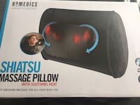 Brand new in packaging HOMEDICS shiatsu massage pillow with soothing heat  Toronto, M9L