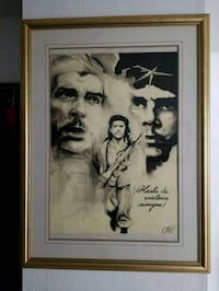 "36""-29"" airbrushing of Che Guevara, made in Cuba  Victoria, V9A 6A6"