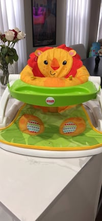 Fisher price sit me up lion chair baby  New York, 11374