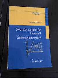 Stochastic Calculus for Finance II by Steven Shreve Vienna, 22182