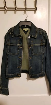 Womans tommy jean jacket size Medium