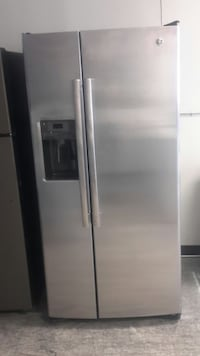 stainless steel side-by-side refrigerator with dispenser San Antonio, 78250