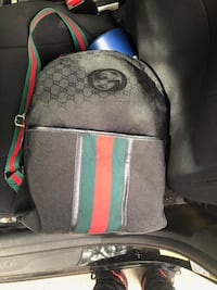black and green Gucci backpack Charlotte, 28262