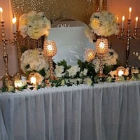 Entrance Table/Welcome Display