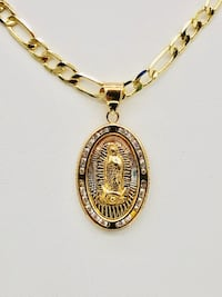 Guadalupe pendant with chain  Glendale Heights