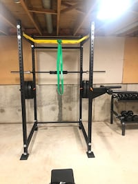 Squat Rack - Commercial Grade Cage
