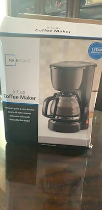 Coffee maker NEW Surrey, V3R