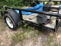 black and blue utility trailer Converse, 78109