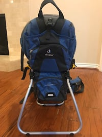 baby's blue and black stroller Dallas, 75230