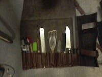 scissor spatula and knife set