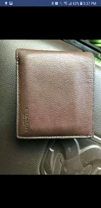 Coach leather wallet Killeen, 76549