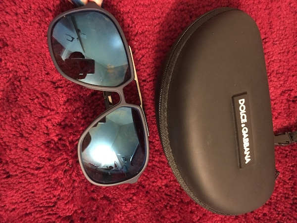 f47519aa209b Used Blue Dolce   Gabbana sunglasses with case for sale in San Francisco -  letgo