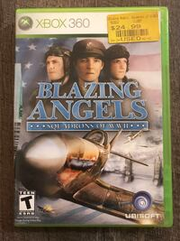 Blazing Angels- Xbox 360 Game Los Angeles, 90026