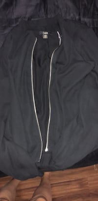 black and white zip-up jacket Langley, V3A 6L9