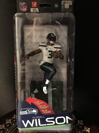 Brand New - McFarlane NFL Series 35, Russell Wilson Seahawks - $25.00 Langley, V3A