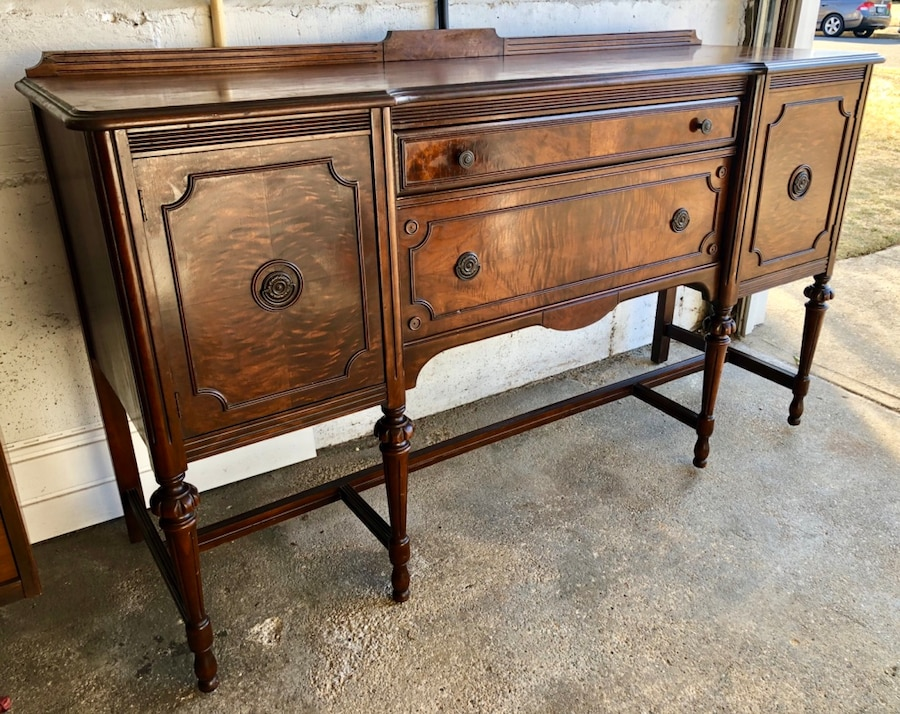 seaford i inde ikinci el sat l k beautiful antique walnut buffet rh tr letgo com