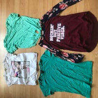 Lot of Girls tops - Youth XL / Adult Small Victoria