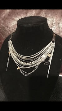 #37 Layered choker necklace  Vancouver, 98661