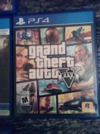 Grand Theft Auto Five PS4 game case London, N6J