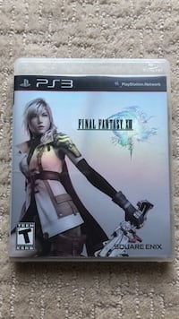 PS3 Final Fantasy XIII Spruce Grove, T7X