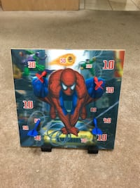 Spider man magnetic dart board with darts Crestwood, 60418