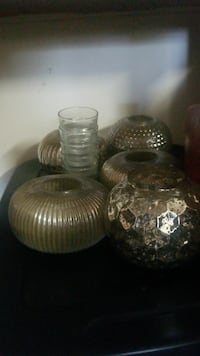 5 assorted silver-colored pots Bowie, 20715