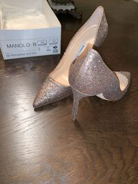 Pumps , heels , Manikin blahnik bridesmaid heels Discontinued designer Vaughan, L4J