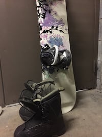 Morrow 48 inch snowboard with shoes Fairfax, 22032