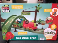 Dino train set brand new Toronto, M4C 4G4